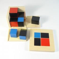 Algebraiczny sześcian dwumianowy - Sześcian dwupoziomowy