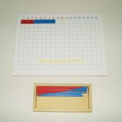 Tablica i pudełko z listewkami – dodawanie