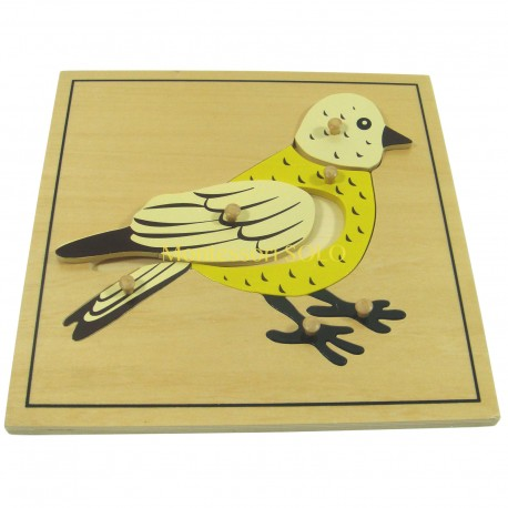 Puzzle - Ptak