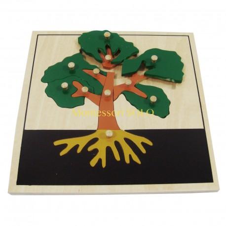 Puzzle - Drzewo
