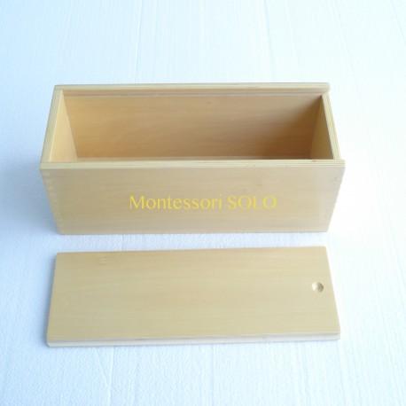 Pudełko na kostki drewniane do systemu dziesiętnego (32,7x13x12cm)
