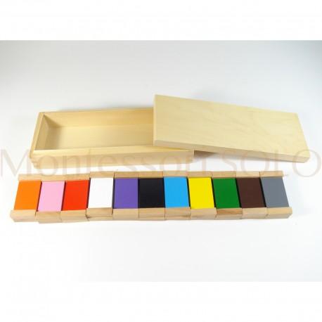 Tabliczki kolorowe – 11 par tabliczek
