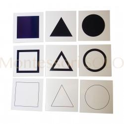 Komoda geometryczna - karty do tacy prezentacji