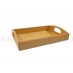 Złoty materiał - taca na 45 drewnianych setek