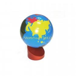 Kolorowy globus